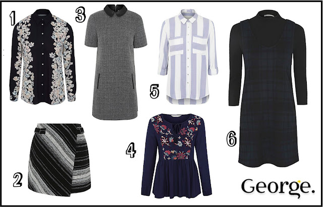 George at Asda Autumn/Winter 2016 Wishlist