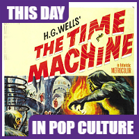 """""""The Time Machine"""" opened in theaters on August 17, 1960."""