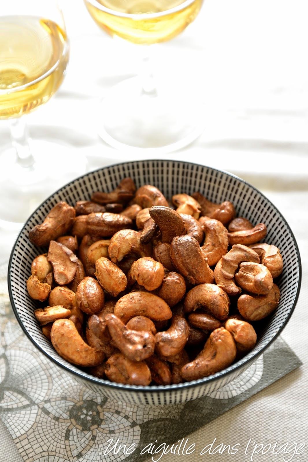 Une aiguille dans l 39 potage noix de cajou aux pices for Quand ramasser les noix