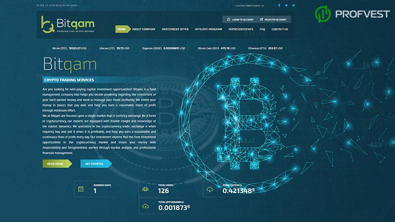 Баунти-программа в Bitqam