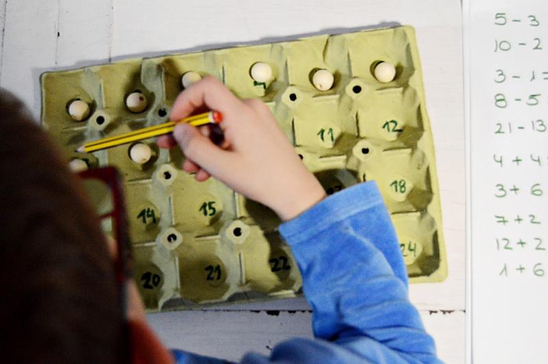 ¿Cómo aprender sumas y restas con bolitas?