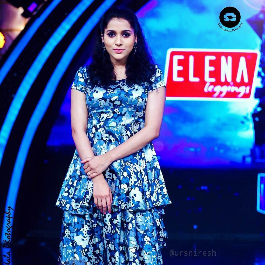 Rashmi Gautam from Dhee 10 Show Latest Stills