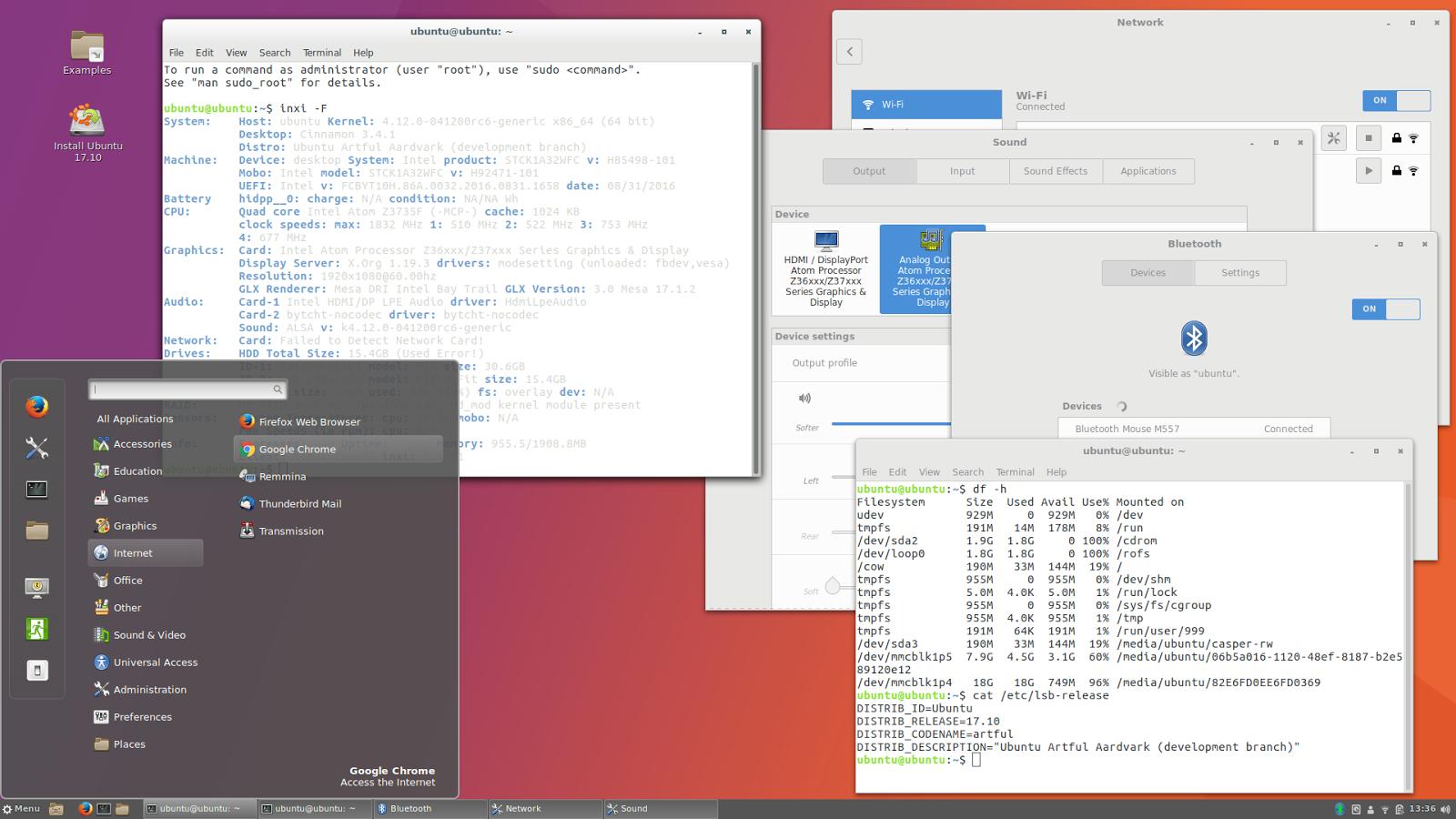 linuxium com au: Third look at Ubuntu 17 10: spicing up Artful