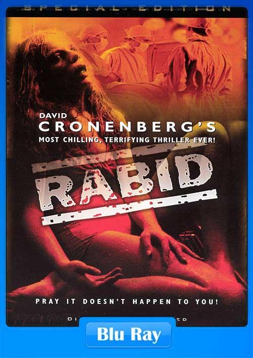 Rabid 1977 BRRip 480p 270MB x264 300MB Movie Poster