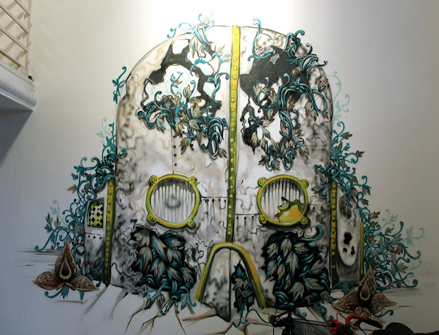 """Coverage Of Pixel Pancho """"The Garden Of Eden"""" New Solo Show In Turin, Italy 9"""