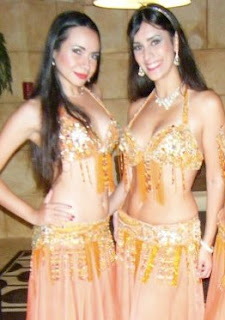 Paula and Cecilia of Sahlala Dancers