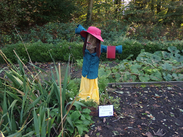 A member of Rufford Old Hall's scarecrow trail
