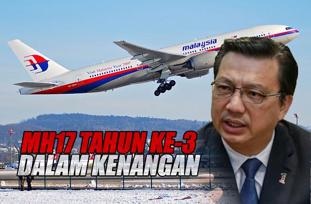 MH17 Tahun Ke3, Dalam Kenangan. #MCA #MH17