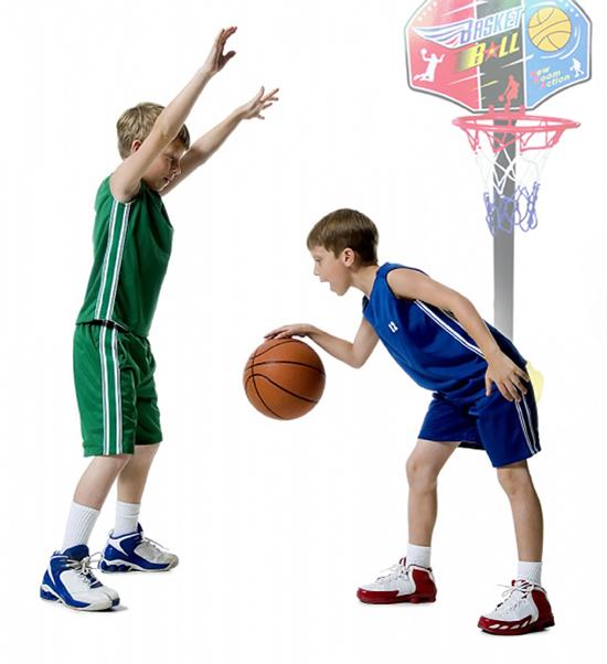 Hãy cẩn thận khi mua bóng rổ giá rẻ cho trẻ em