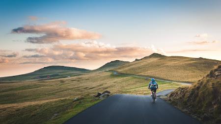 Cycling at Sunset iPad
