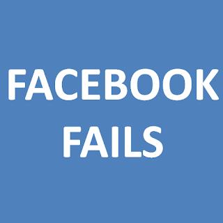 kesalahan saat menggunakan facebook