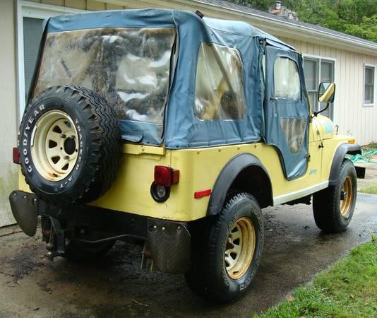 1977 CJ5 Levi Edition Renegade Jeep 304 For Sale $4,500 ...