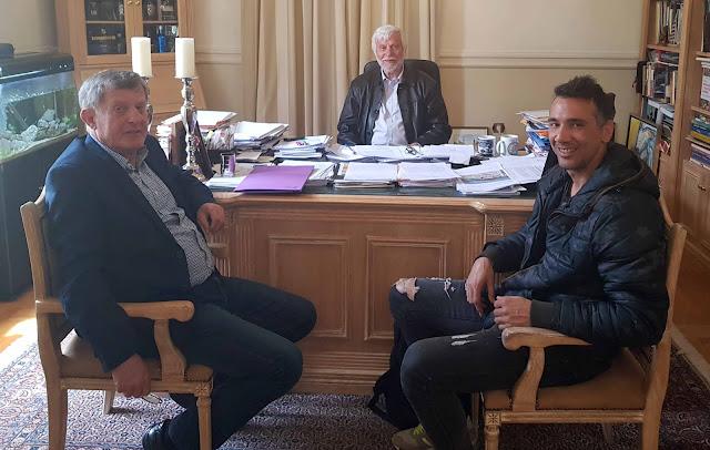 Συνάντηση Τατούλη με τον Πρωταθλητή Λούη Τσάτουμα