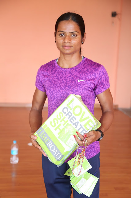 Limeroad supports Ace Sprinter Dutee Chand to represent India at Rio Olympics 2016