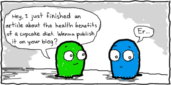 Guest Posting Cartoon