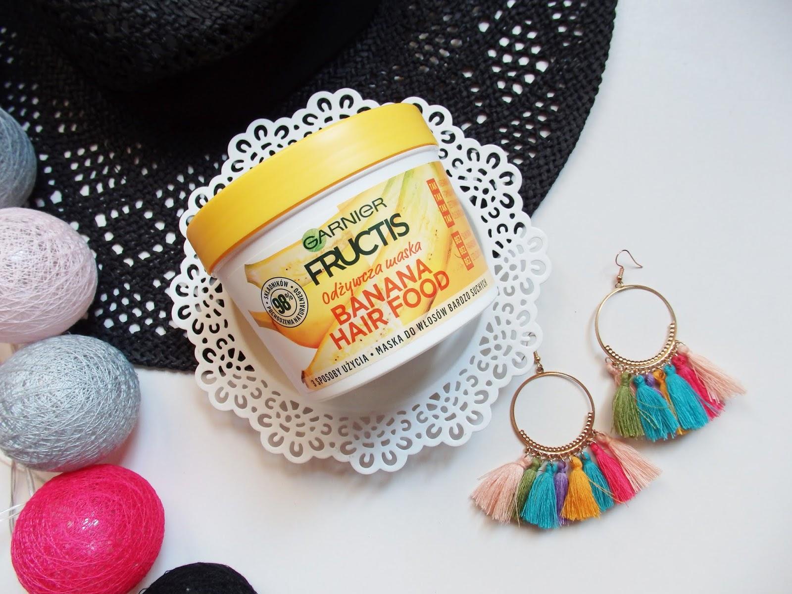 Garnier Fructis, Banana Hair Food - najlepsza maska do włosów suchych?