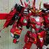 Custom Build: 1/144 Sengoku Unicorn Crimson Shura +Diorama