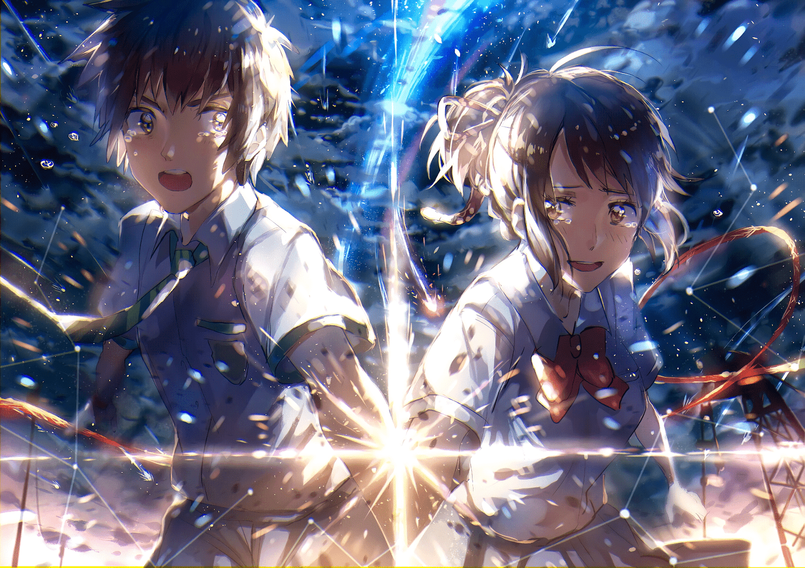 AowVN%2B%252821%2529 - [ Hình Nền ] Anime Your Name. - Kimi no Nawa full HD cực đẹp | Anime Wallpaper