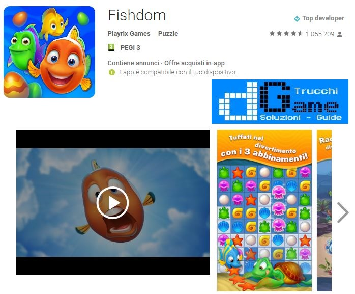 Soluzioni Fishdom livello 511 512 513 514 515 516 517 518 519 520 | Trucchi e Walkthrough level