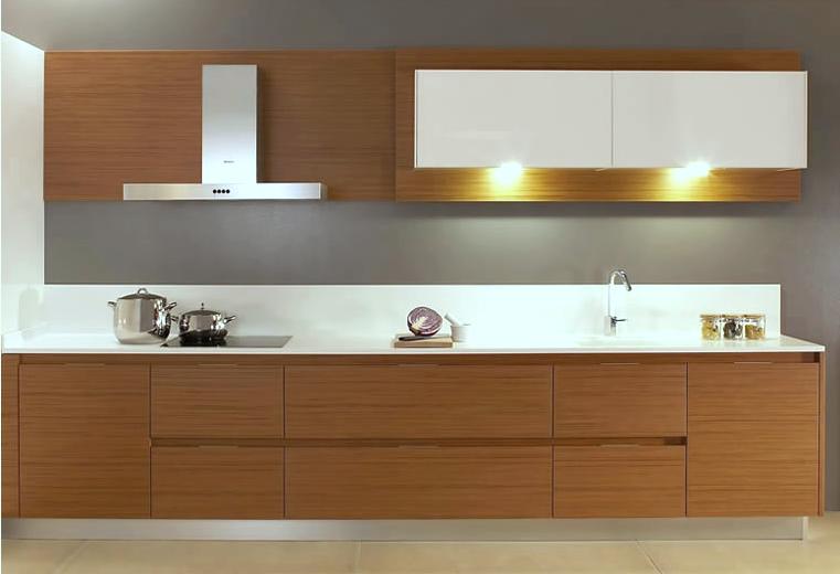 Cocinas de dise o bicolor cocinas con estilo for Cocinas modernas blancas y madera