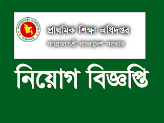 Directorate of Primary Education (DPE) Job Circular 2017