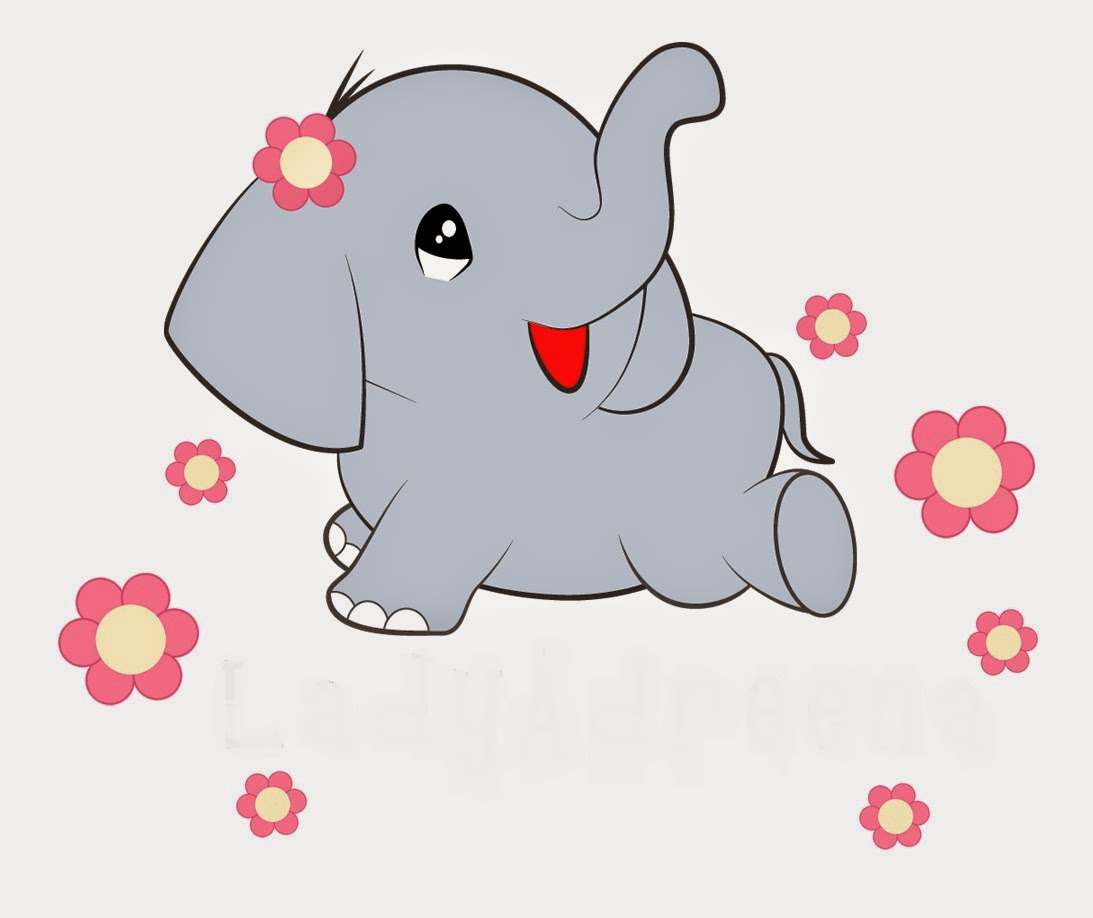 Gambar Kartun Lucu Gajah Komicbox