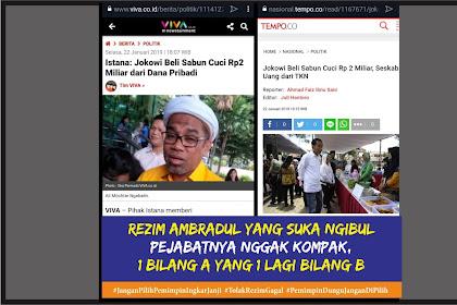 Baru Ditanya Siapa yang Bayar Sabun Aja Jawabannya Dah Ngalor Ngidul, Fokus ke Ngabalin