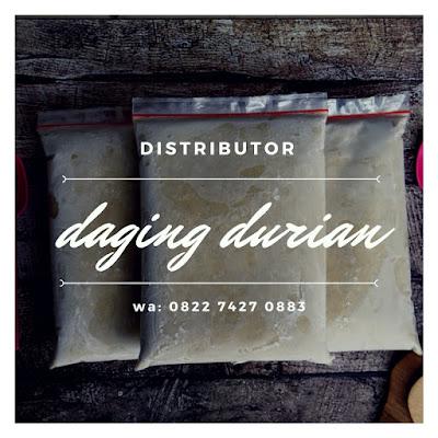 Distributor Daging Durian Medan di Sumenep