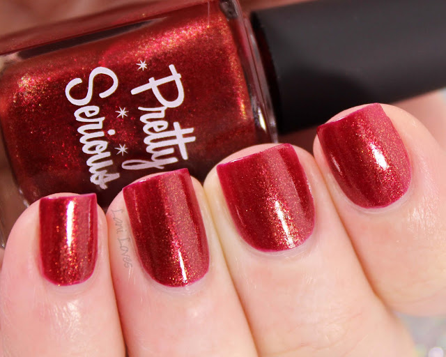 Pretty Serious No Buy nail polish swatches & review