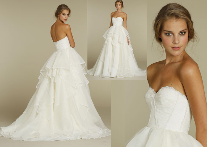 Honey Buy: Hayley Paige 2012 Spring Wedding Dresses Collection
