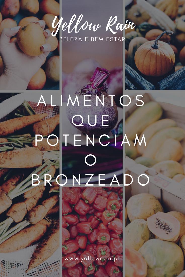 Alimentos Que Potenciam O Bronzeado