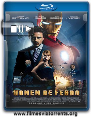 Homem de Ferro Torrent - BluRay Rip 720p e 1080p Dual Áudio 5.1 (2008)