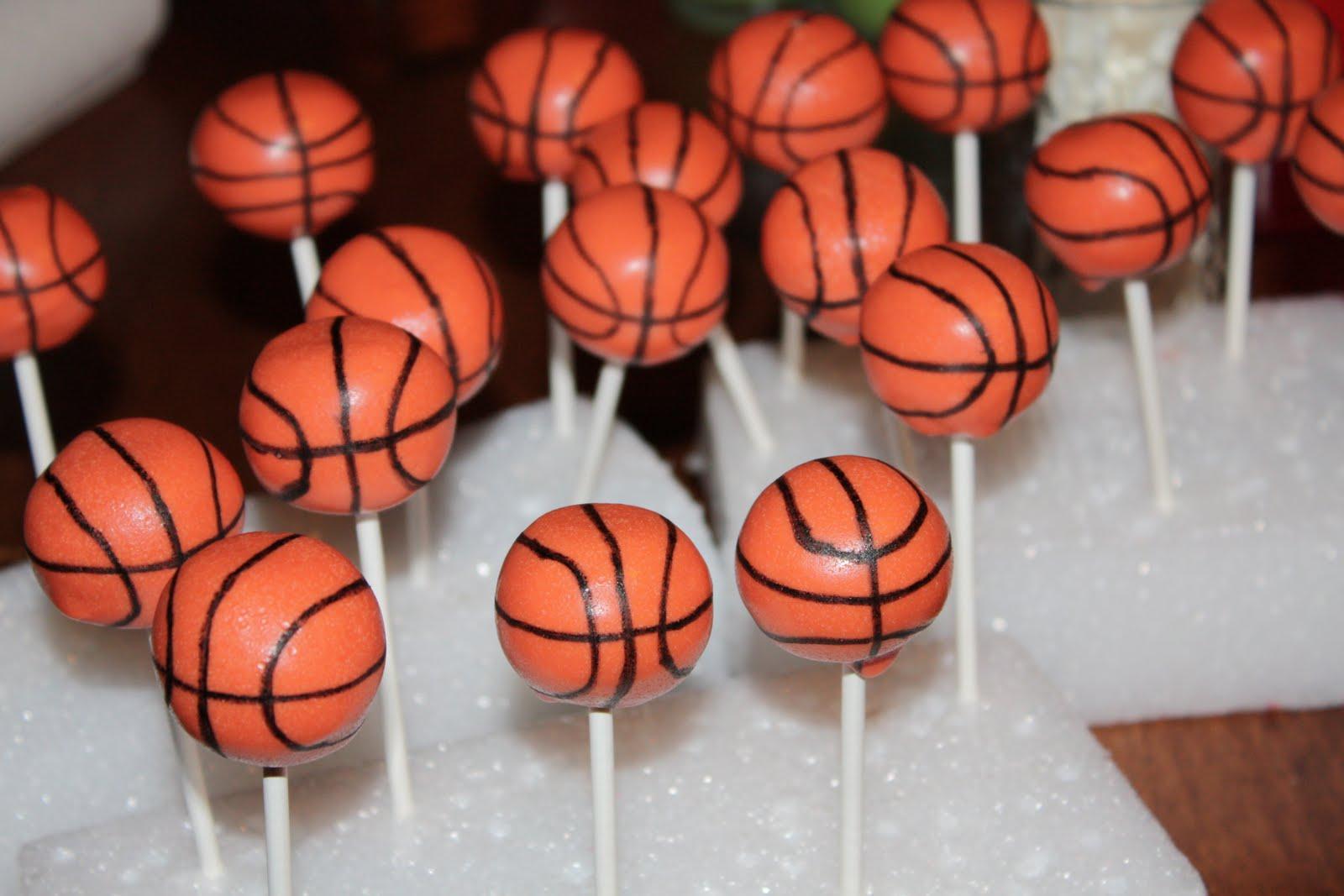 Cake Pops By Randi Basketball Cake Pops