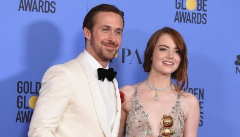 "Golden Globes 2017 ""La La Land Sweeps Awards"""