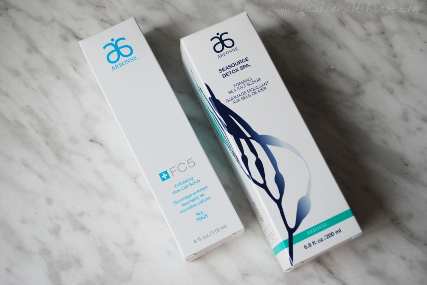 bbloggers, bbloggersca, canadian beauty bloggers, arbonne, skincare, exfoliating new cell scrub, foaming sea salt, winter, dry skin, review, seasource detox spa