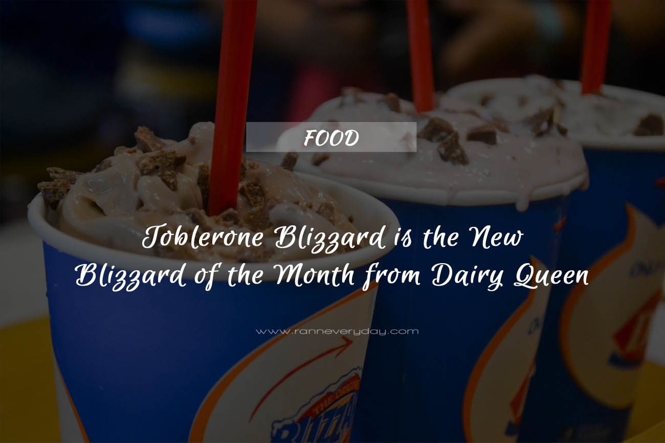 Dairy Queen Blizzard of the Month on Fast Food Deals | Dairy Queen Blizzard Dairy Queen has a huge variety of ice cream to choose from and their most popular menu item might just be the DQ Blizzard. A Blizzard is basically just soft serve ice cream in a cup, but it is also much more than that.
