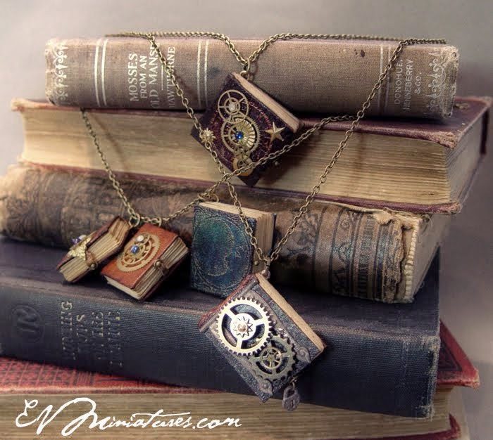 Book Necklaces