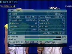Frekuensi NET Media TV di Satelit TELKOM Terbaru
