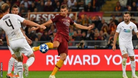 Plzen vs Roma