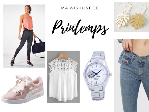Ma wishlist de printemps !