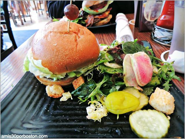 Hamburguesa en Sausalito