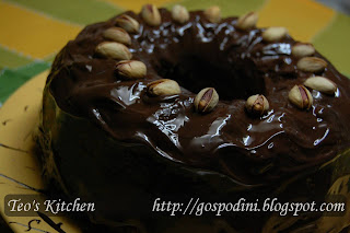 Chec invelit in ciocolata
