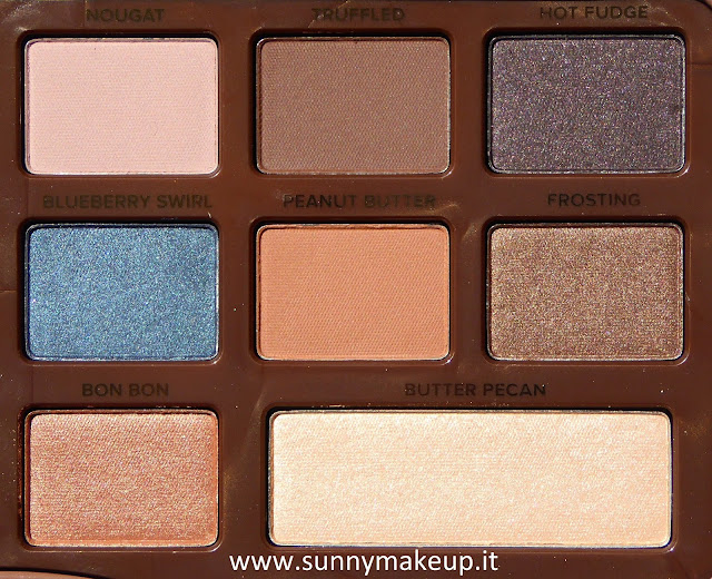 Too Faced - Semi-Sweet Chocolate Bar. Palette di ombretti.