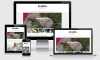 Elvira Blogger Template