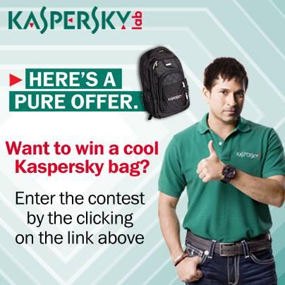 Contest !! Fan Of The Week Win Cool Kaspersky Bag !! Sakri
