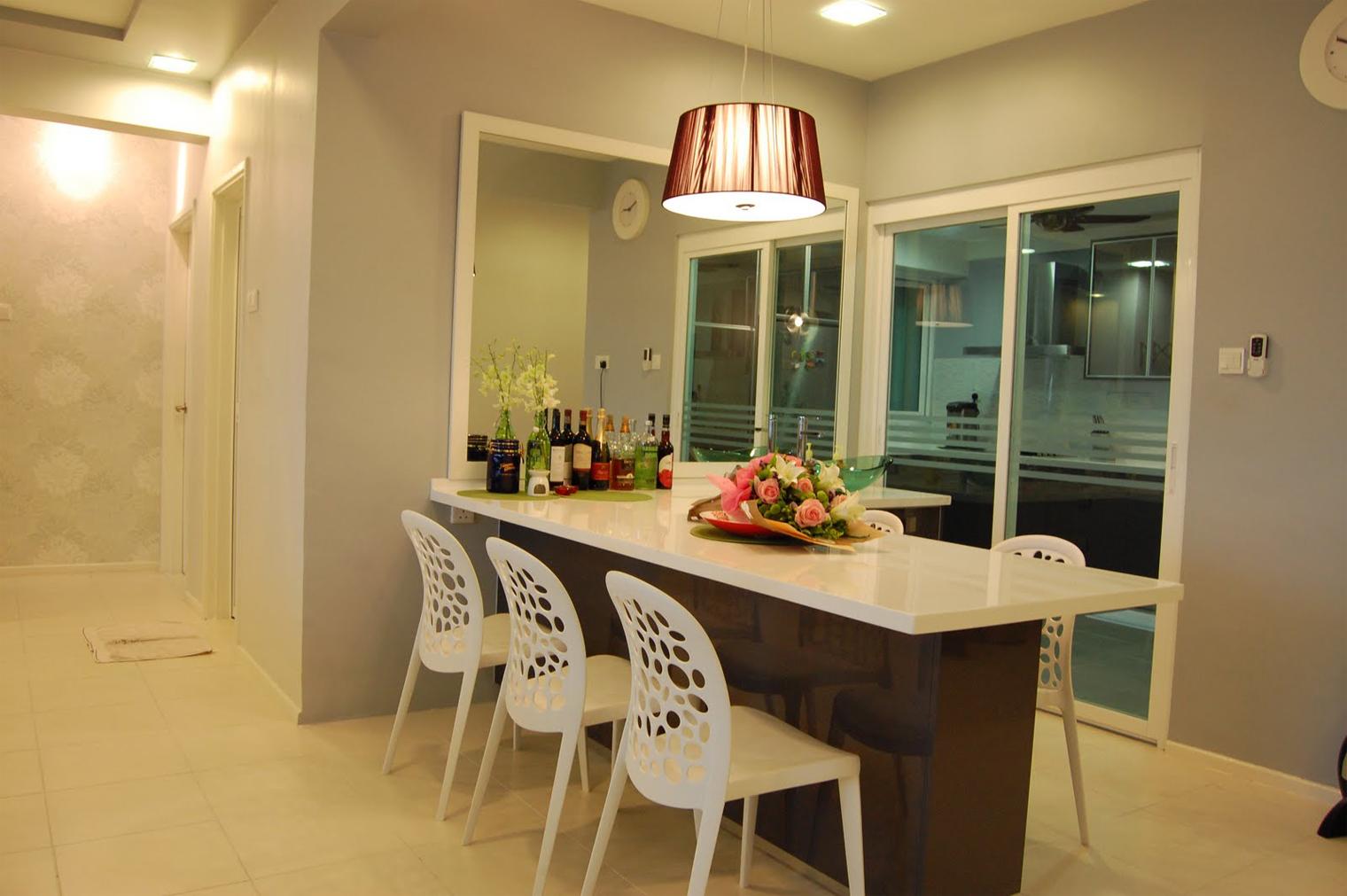Interior Dapur Malaysia