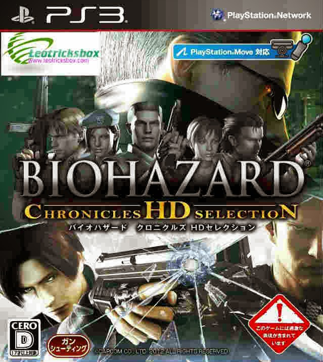 PS3 Game : Resident Evil Chronicles HD