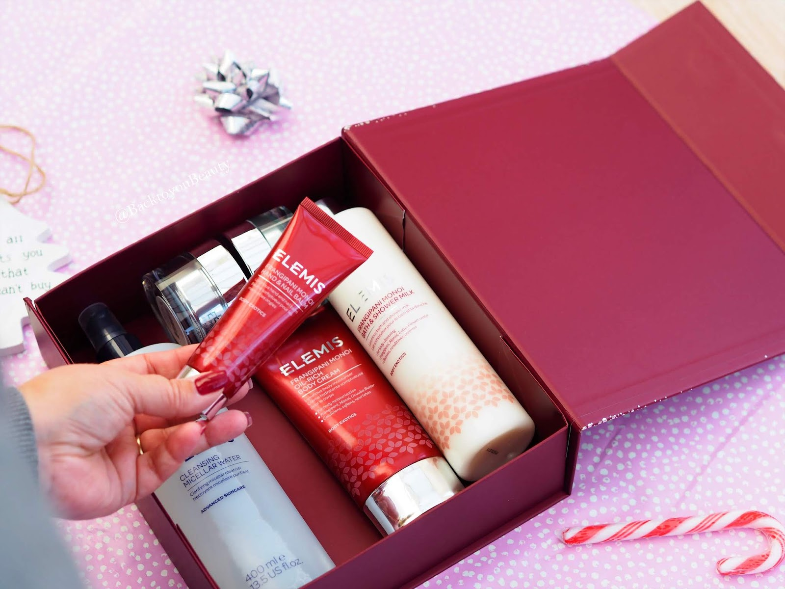 The Red Box : Elemis Christmas TSV Frangipani Monoi