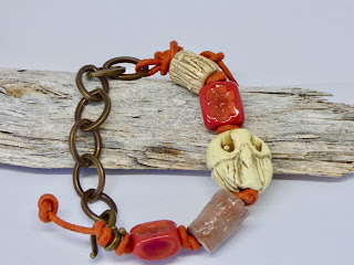 Modern Owl Bracelet by BayMoonDesign