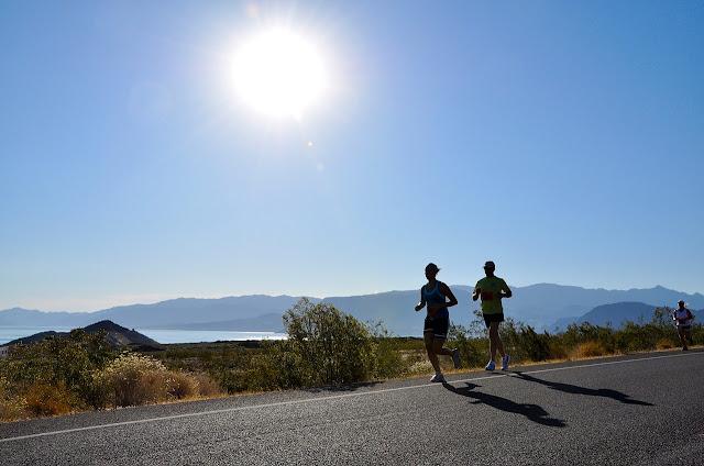 Runners au soleil
